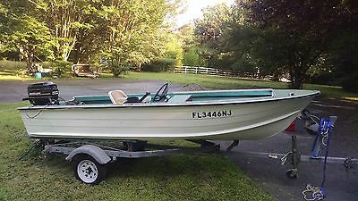 Starcraft V Runabout  Aluminum Boat 35HP Merc excellent condition