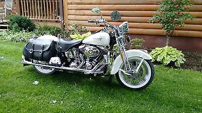 Harley-Davidson : Softail One of a kind 2003 100th anniversary heritage springer