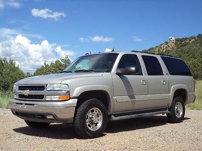 Chevrolet : Suburban LT Autoride Rare 2004 4WD Chevrolet Suburban LT2500 8.1 Vortec 4X4- Make Offer - !!!
