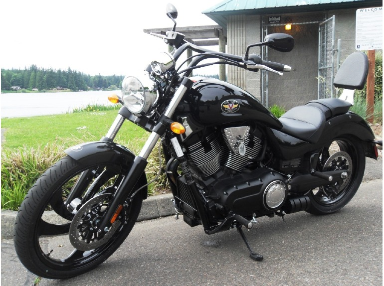 victory vegas 8ball motorcycles for sale in washington. Black Bedroom Furniture Sets. Home Design Ideas