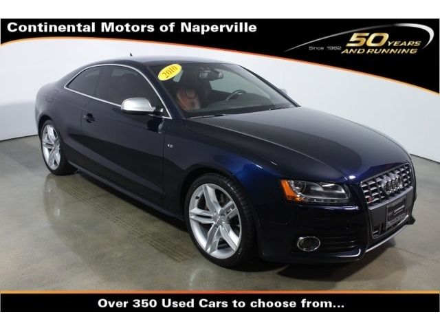 Audi : S5 4.2 Prestige 4.2 prestige coupe 4.2 l cd 10 speakers am fm radio sirius mp 3 decoder