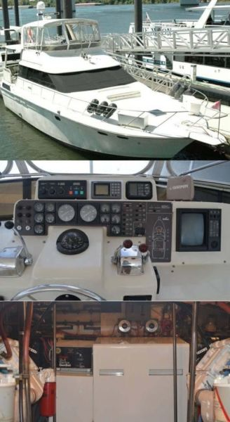 Silverton 46 Motor Yacht Boats For Sale