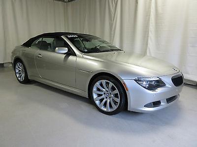 BMW : 6-Series Base Convertible 2-Door 2008 bmw 650 i base convertible 2 door 4.8 l
