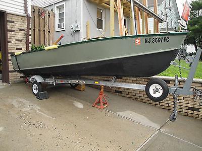 1985 14 ft. Aluminum Lund  Fishing Boat