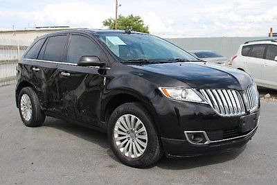 Lincoln : MKX . 2011 lincoln mkx rebuilder project salvage wrecked save repairable damaged