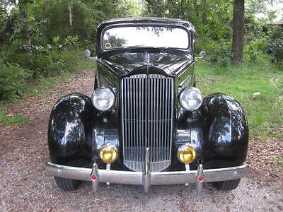 Packard : 120 Businessman's Sedan 4-door 1937 packard 120 businessman s sedan 282 straight eight