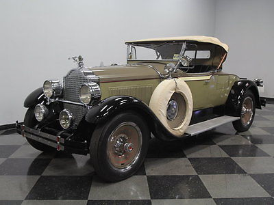 Packard : 526 Runabout Roadster RARE ROADSTER, 289 6 CYL, 3 SPD, AS BUILT, CLEAN SOLID ORIGINAL, RUNS EXCELLENT!