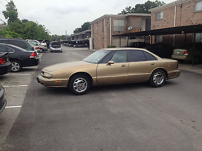 Oldsmobile : LSS LSS 1998 oldsmobile lss base sedan 4 door 3.8 l
