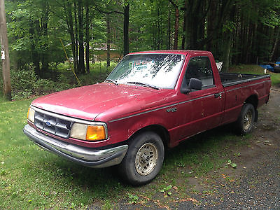 Ford : Ranger XL Standard Cab Pickup 2-Door 1993 ford ranger xl standard cab pickup 2 door 3.0 l