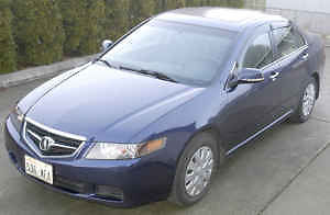 Acura : TSX Base Sedan 4-Door 2004 acura tsx base sedan 4 door 2.4 l color blue in everett
