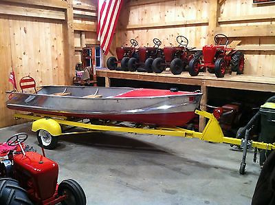 1950's Tee Nee Vintage Antique Boat Trailer Restored in CT