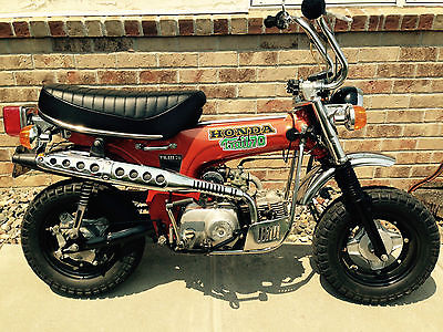 Honda : CT 1974 honda ct 70 trail good condition 3 speed semi automatic no clutch needed