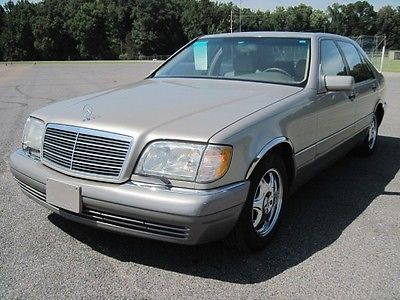 Mercedes Benz : S Class 1996 Mercedes S 320 Moonroof Loaded Leather Power  Seats