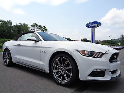 Ford : Mustang GT Convertible Premium 5.0L V8 Auto White New 2015 Mustang GT Convertible Premium V8 5.0L Automatic Navigation Leather