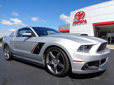 Ford : Mustang Roush Stage 3 Mustang GT Coupe Automatic Silver 2013 mustang gt coupe roush stage 3 565 hp 5.0 l v 8 ingot silver automatic video