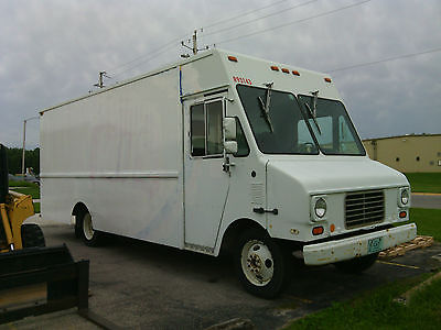 Chevrolet : Other 1994 chevy aluninum step van cargo van 18 foot aluminum 6.5 diesel automatic