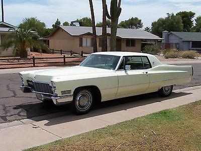 Cadillac : Other Base Hardtop 2-Door 1968 cadillac calais base hardtop 2 door 7.7 l