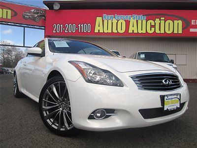 Infiniti : G37 G37 INFINITI G37 LIMITED CONVERTIBLE LEATHER NAVIGATION BACK UP CAMERA Low Miles 2 d