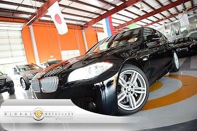 BMW : 5-Series 550i 12 bmw 550 i m sport pkg nav rear cam moonroof heat sts keyless go