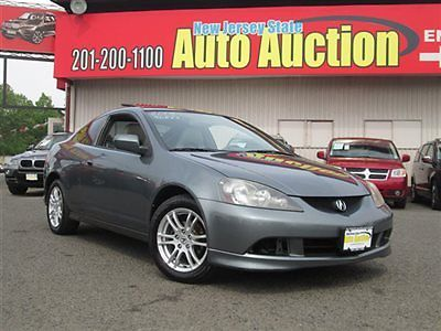 Acura : RSX Base Coupe 2-Door ACURA RSX LEATHER ROOF 2 dr Coupe Automatic Gasoline 2.0L 4 Cyl Magnes