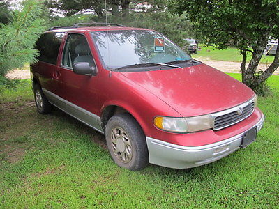 Mercury : Villager VIL 1996 mercury villager gs mini passenger van 3 door 3.0 l clean runs great