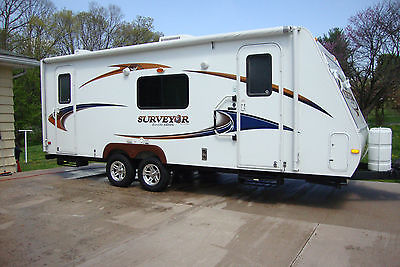 2011 FOREST RIVER SURVEYOR SPORT HYBRID CAMPER