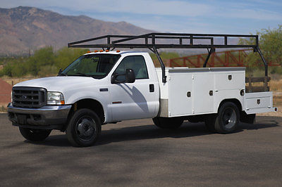 Ford : Other Pickups MONEY BACK GUARANTEE 2004 ford f 550 diesel utility bed work truck xl cab chassis 6.0 l inspected