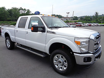 Ford : F-250 New 2015 F250 Crew Cab Lariat 4x4 Gas Short Bed New 2015 F250 Crew Cab Lariat 4x4 6.2L V8 Heated Leather FX4 Chrome Package 4WD