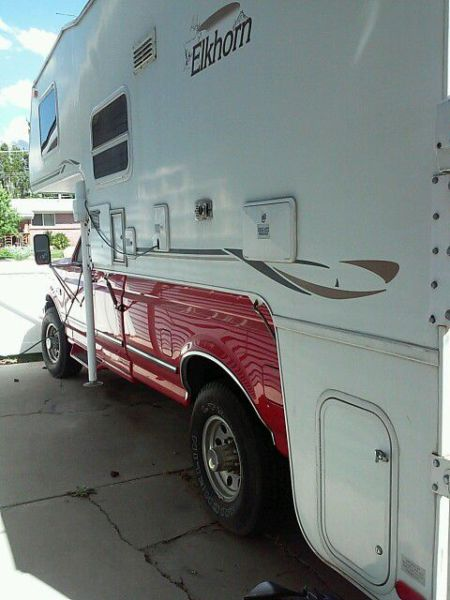 1996 Ford F250 with 2003 Elwood LT camper