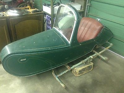 Other Makes : Nimbus ACAP Sidecar 1930 s 1940 s nimbus sidecar unrestored rust free original interior very rare
