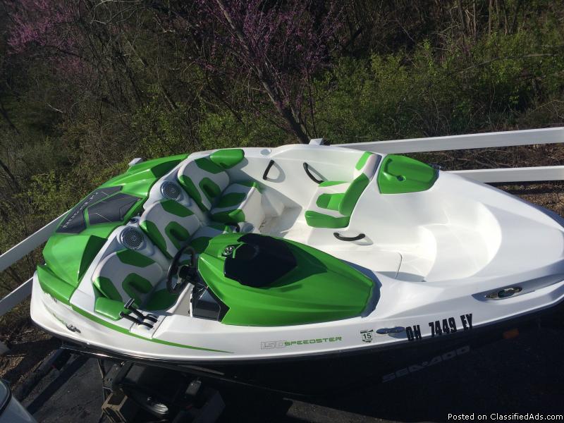 2012 Sea-Doo Speedster 150 Boat - Only 10 hours
