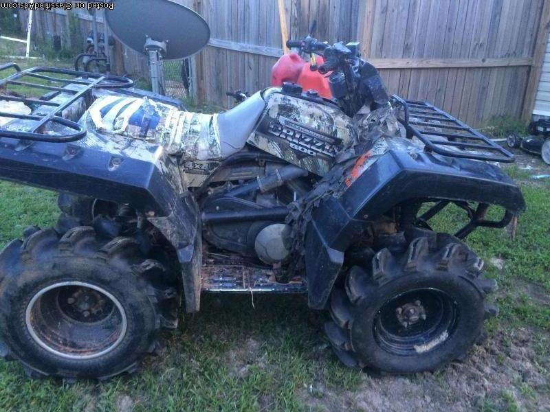 2000 yamaha grizzly 600 motorcycles for sale