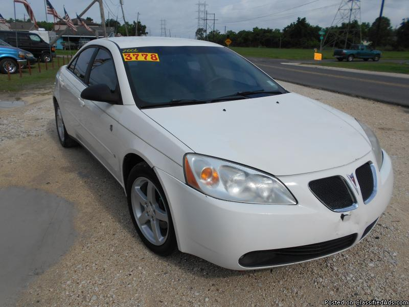 06 pontiac g6 cars for sale. Black Bedroom Furniture Sets. Home Design Ideas