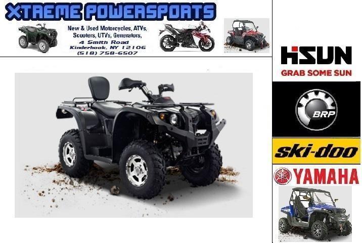2015 HISUN Forge 700 ATV