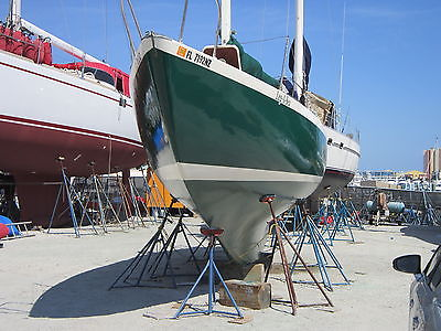 1947 LUDERS MAHOGANY COLD MOLDED 31ft CLASSIC SAILBOAT