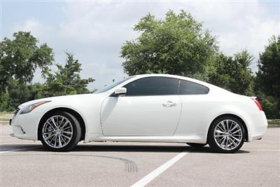 Infiniti : G37 2dr Journey RWD 2 dr journey rwd infinity g 37 coupe low miles gasoline 3.7 l v 6 cyl moonlight whit