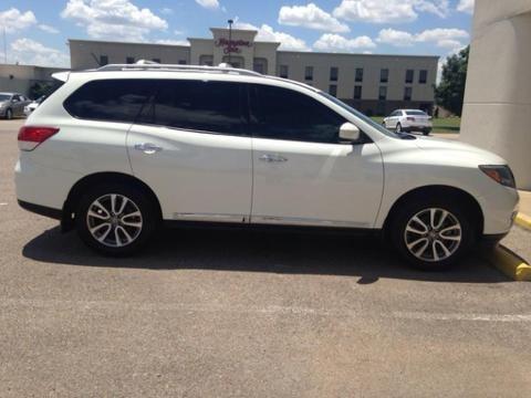 2013 NISSAN PATHFINDER 4 DOOR SUV
