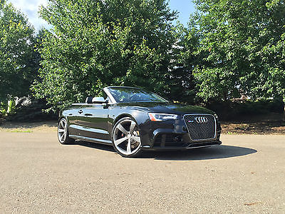 Audi : Other Cabriolet 2013 audi rs 5 convertible cabriolet black with extras alum optic awe sport exh