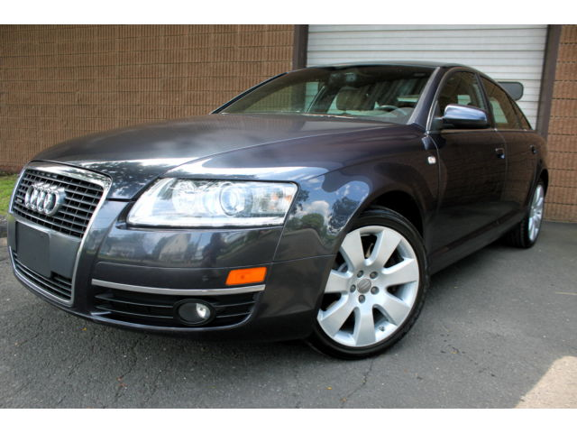 Audi : A6 4.2L Quattro MAKE OFFER - 4.2L V8 - ALL WHEEL DRIVE - NAVIGATION - LEATHER - MOONROOF - CLEAN
