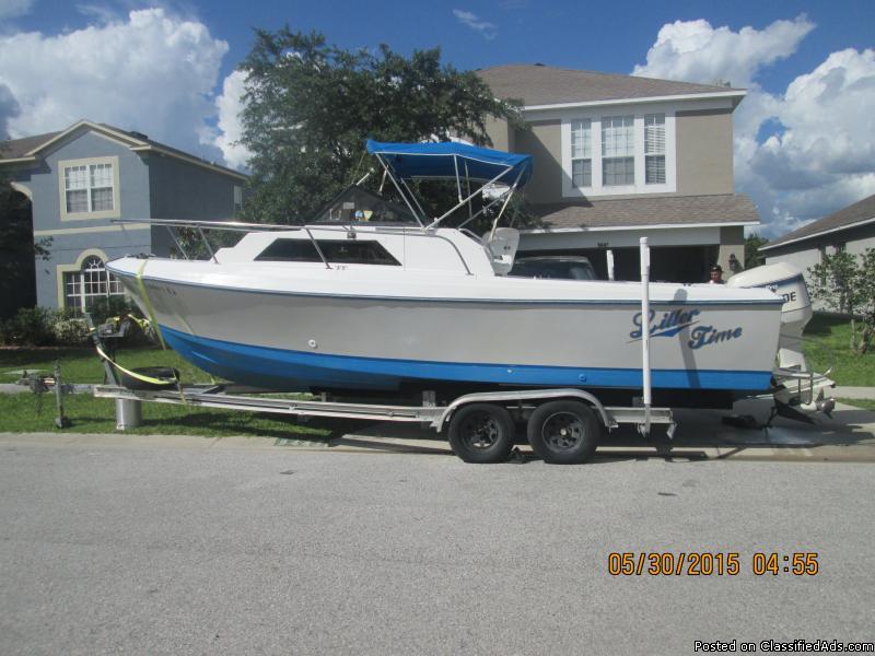 24.5 Aquasport outboard