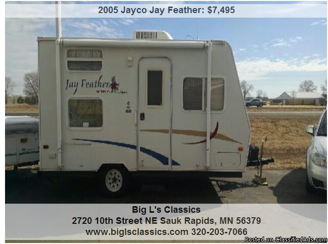 2005 Jayco Jay Feather Rvs For Sale