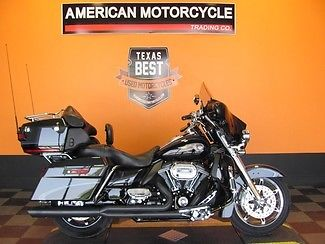 Harley-Davidson : Touring 2013 used black 110 th anniversary harley davidson screamin eagle cvo flhtcuse 8
