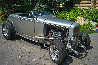 Ford : Other High Boy 1932 ford roadster ultimate hot rod steel body professionally built