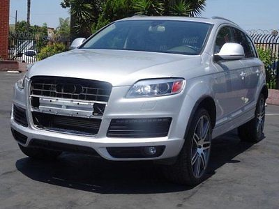 Audi : Q7 3.6 quattro Premium 2008 audi q 7 3.6 quattro premium damaged rebuilder loaded luxurious wont last