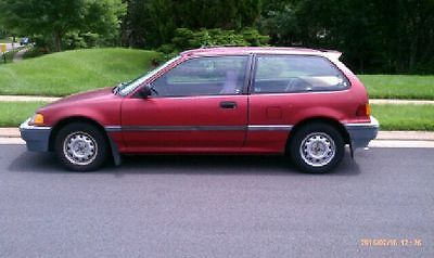 Honda : Civic DX Fair Condition, has only 144 Thousand Miles
