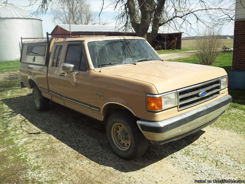 1989 Ford F150 4x4 Cars for sale