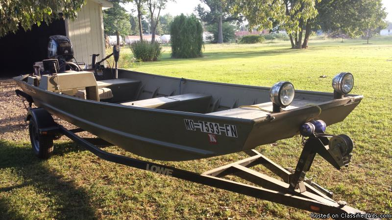 16 Ft Jon Boat Boats for sale