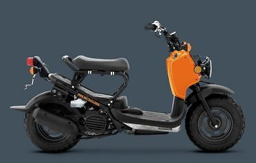 2011 Honda Ruckus - Scooter - Low Hours, Street Legal, Orange