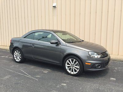 Volkswagen : Eos Lux Convertible 2-Door 2012 vw eos 2.0 l turbo convertible hard top bluetooth 31 mpg only 7800 miles bran