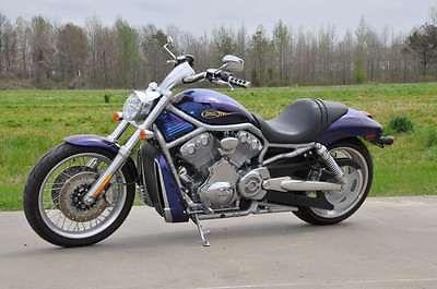 Harley-Davidson : VRSC 2009 harley davidson vrscaw v rod black ice blue ice denim